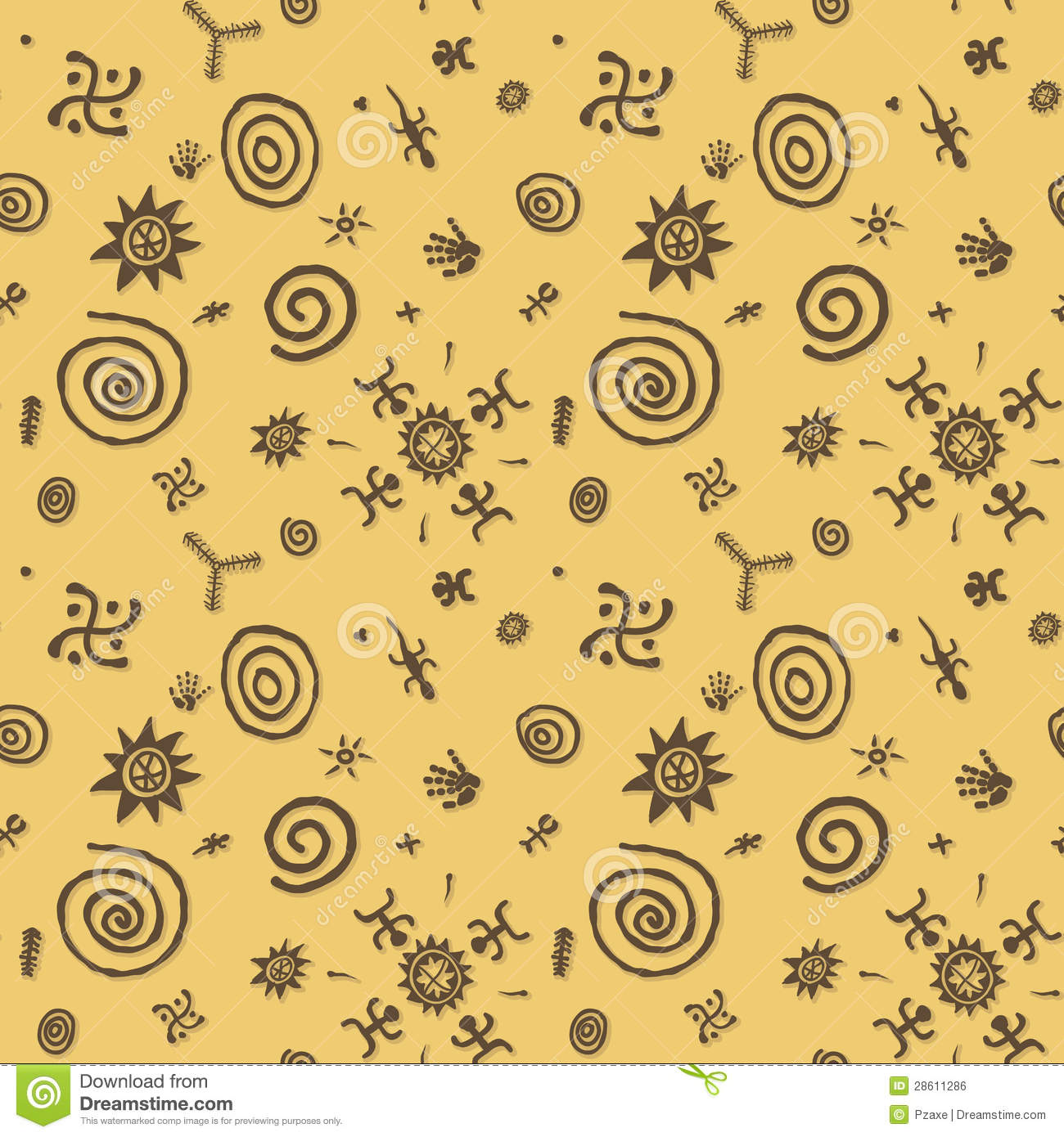 3 symbols in the yellow wallpaper