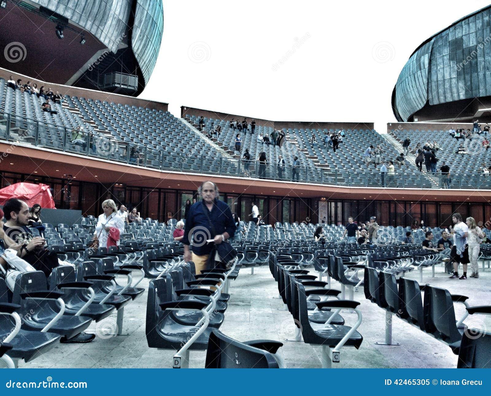 Cavea-Auditorium, Rom