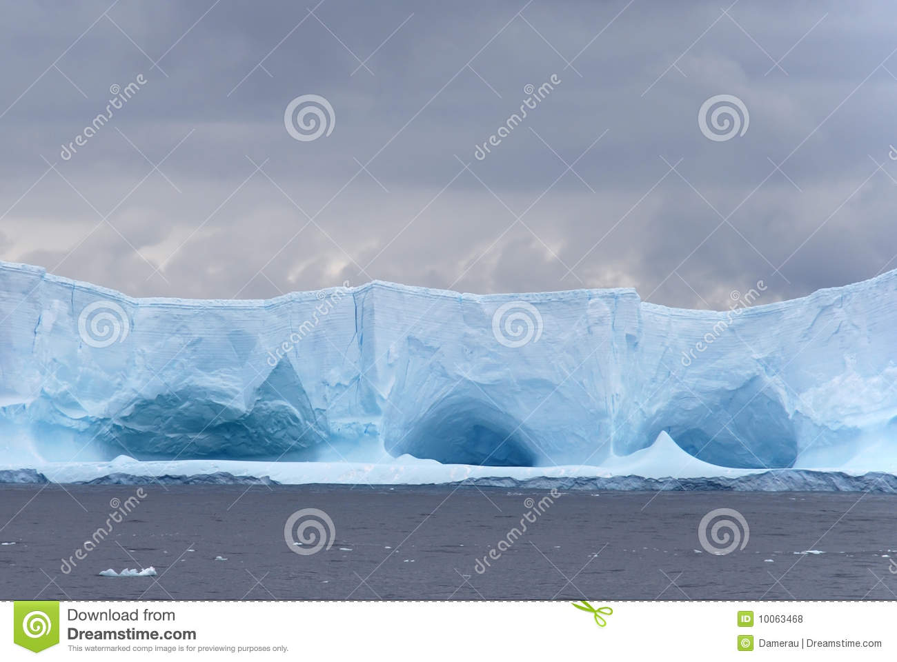 Caved Iceberg