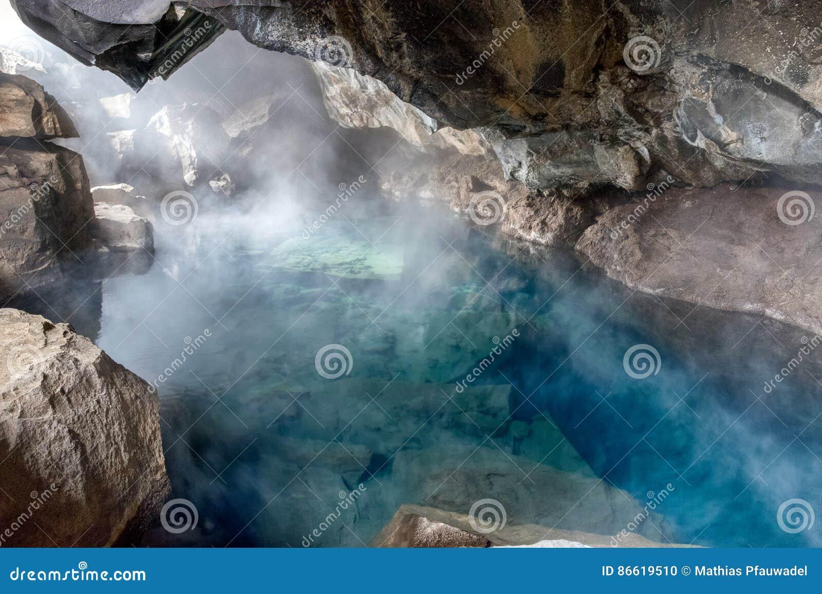 Caverna de Grjotagja, Islândia