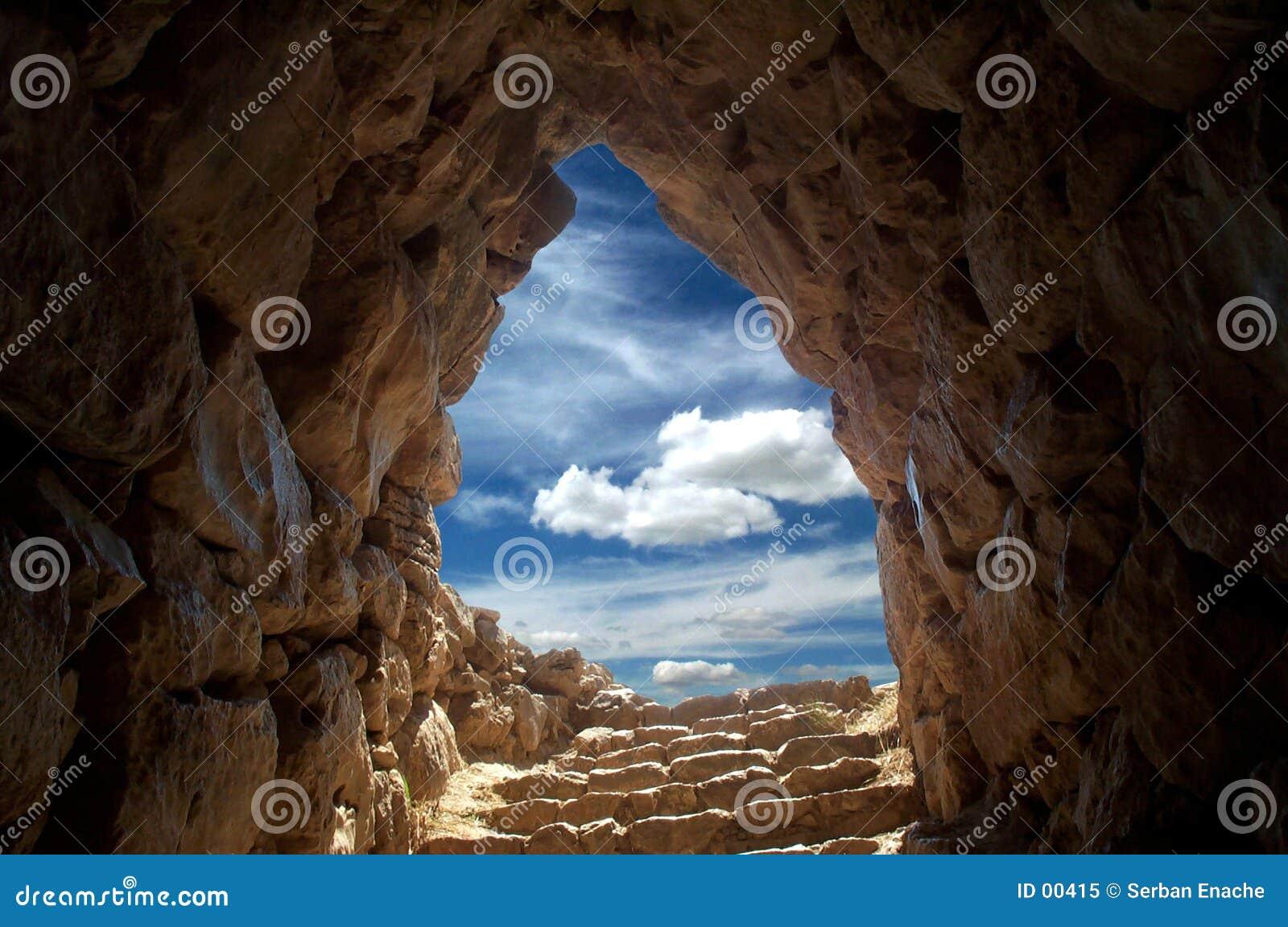 Caverna em Mycenae 2