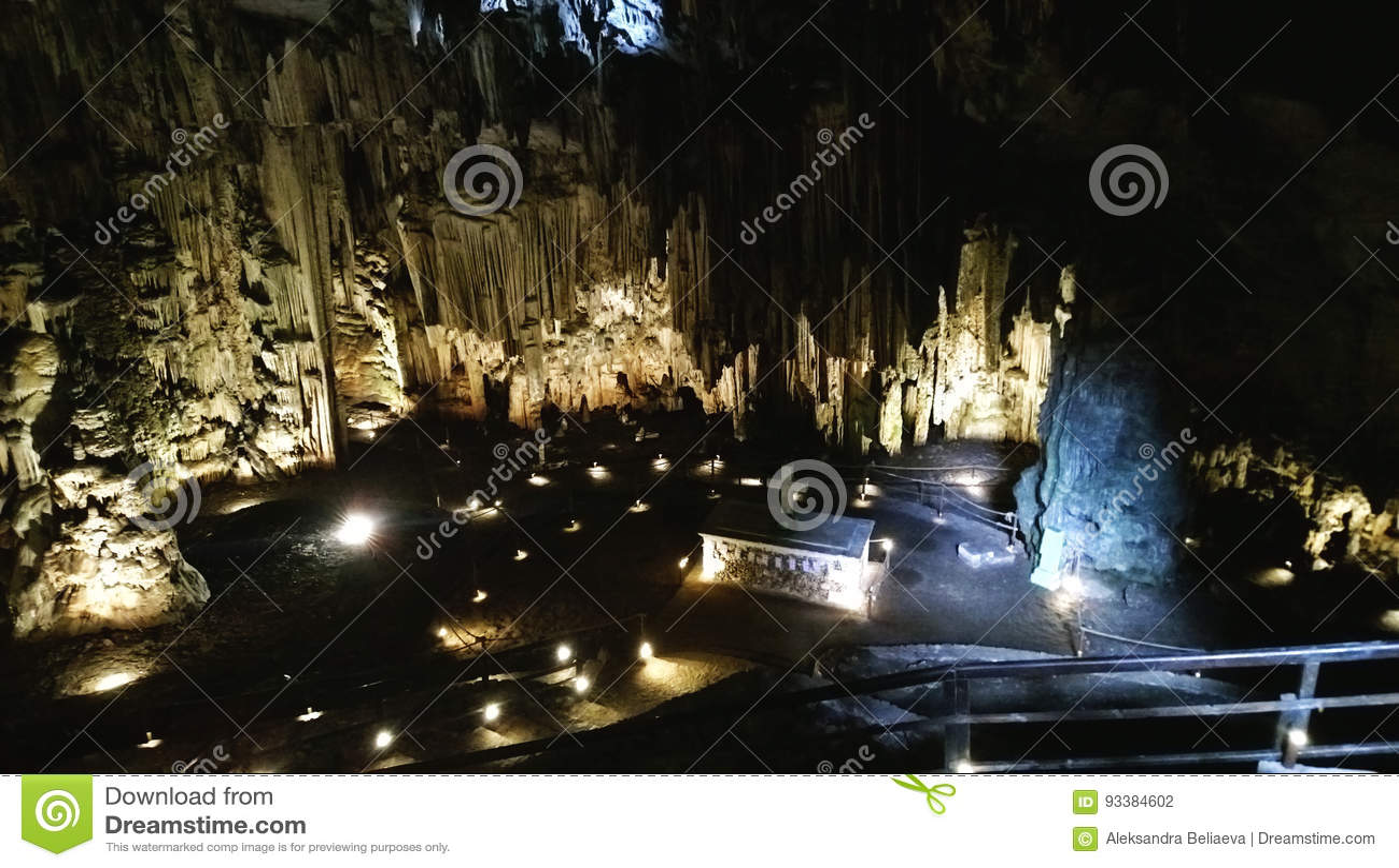 Caverne de Melidoni en Crète