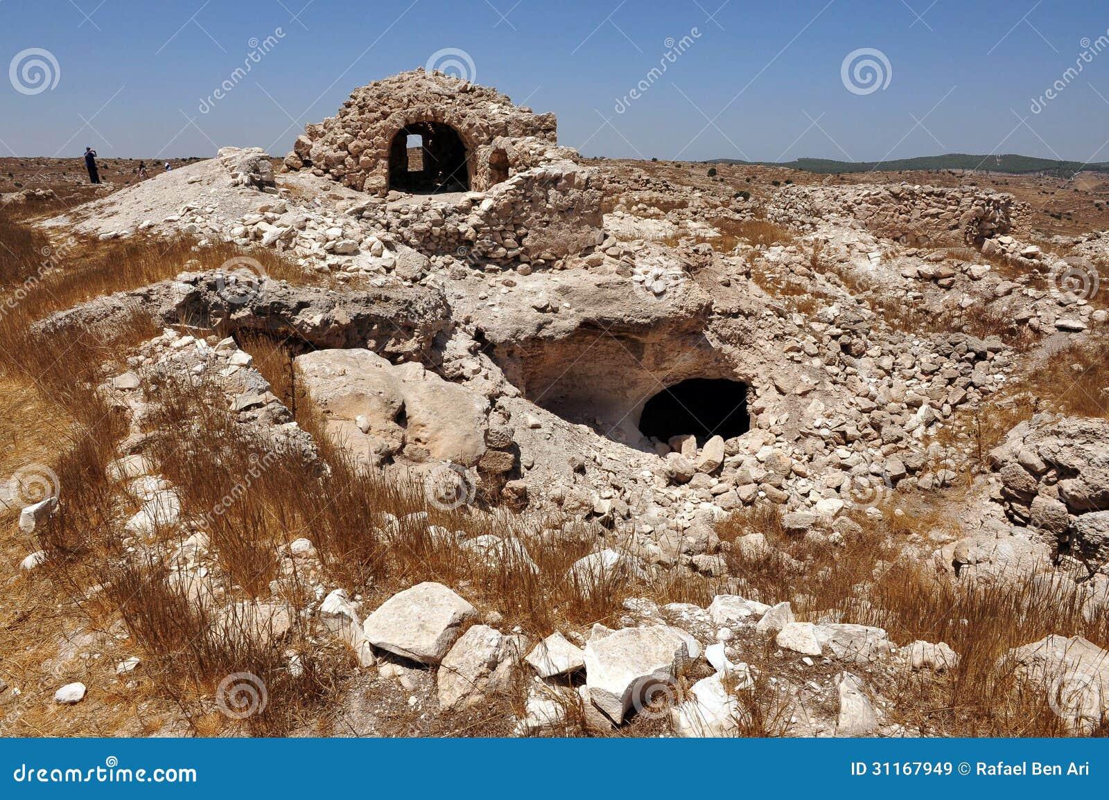 Cavernes d Amatzia - Israël