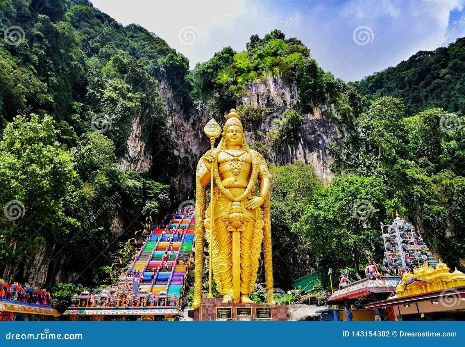 Cavernes de Batu, Malaisie
