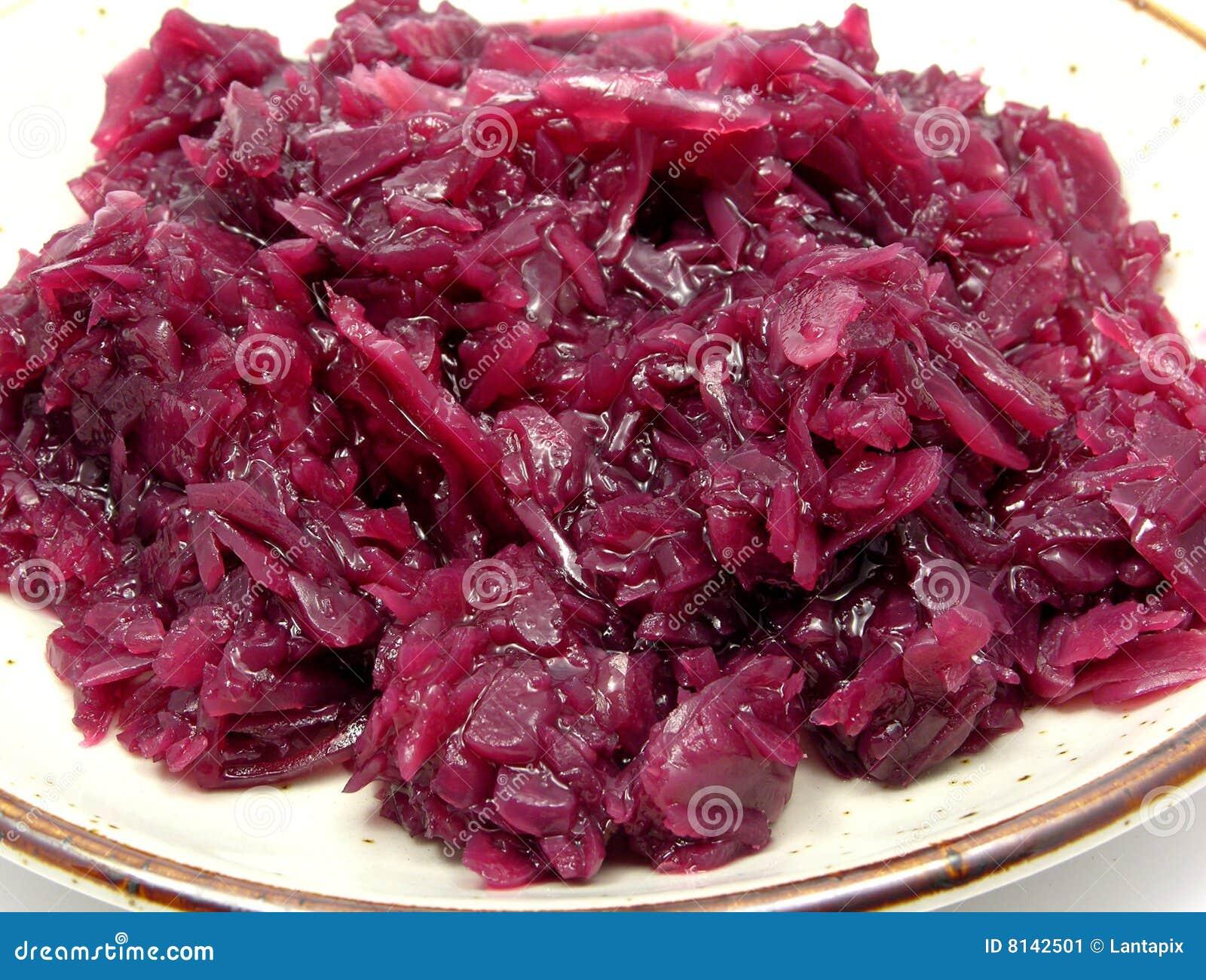 Cavolo Rosso Cucinato Immagine Stock Immagine Di Verdura 8142501