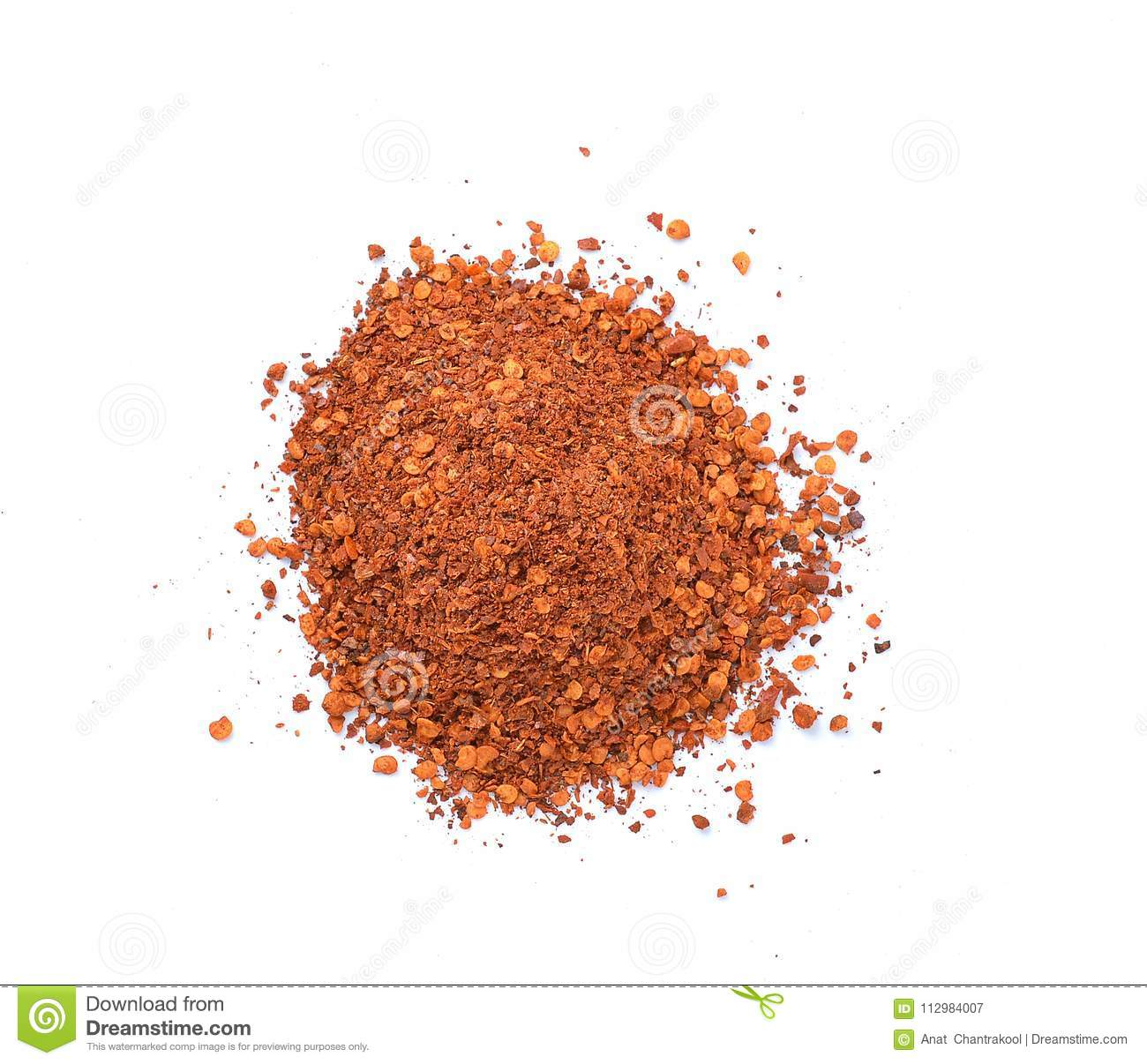 Cayenne pepper isolated on a white background