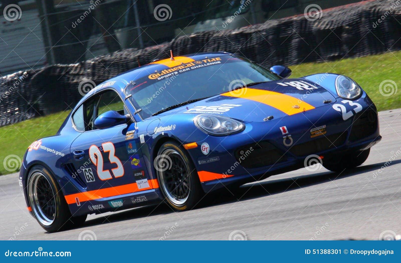 Cayman Race Car Editorial Photo Image 51388301