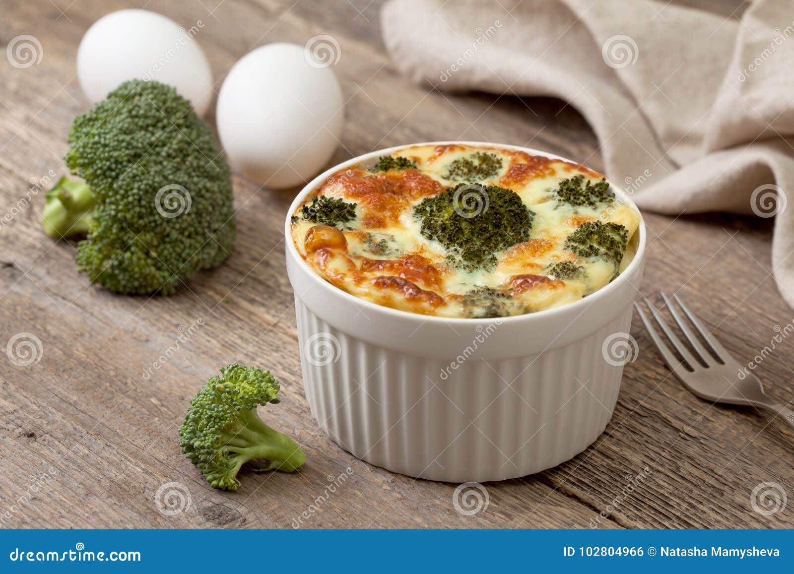 Cazuela del bróculi