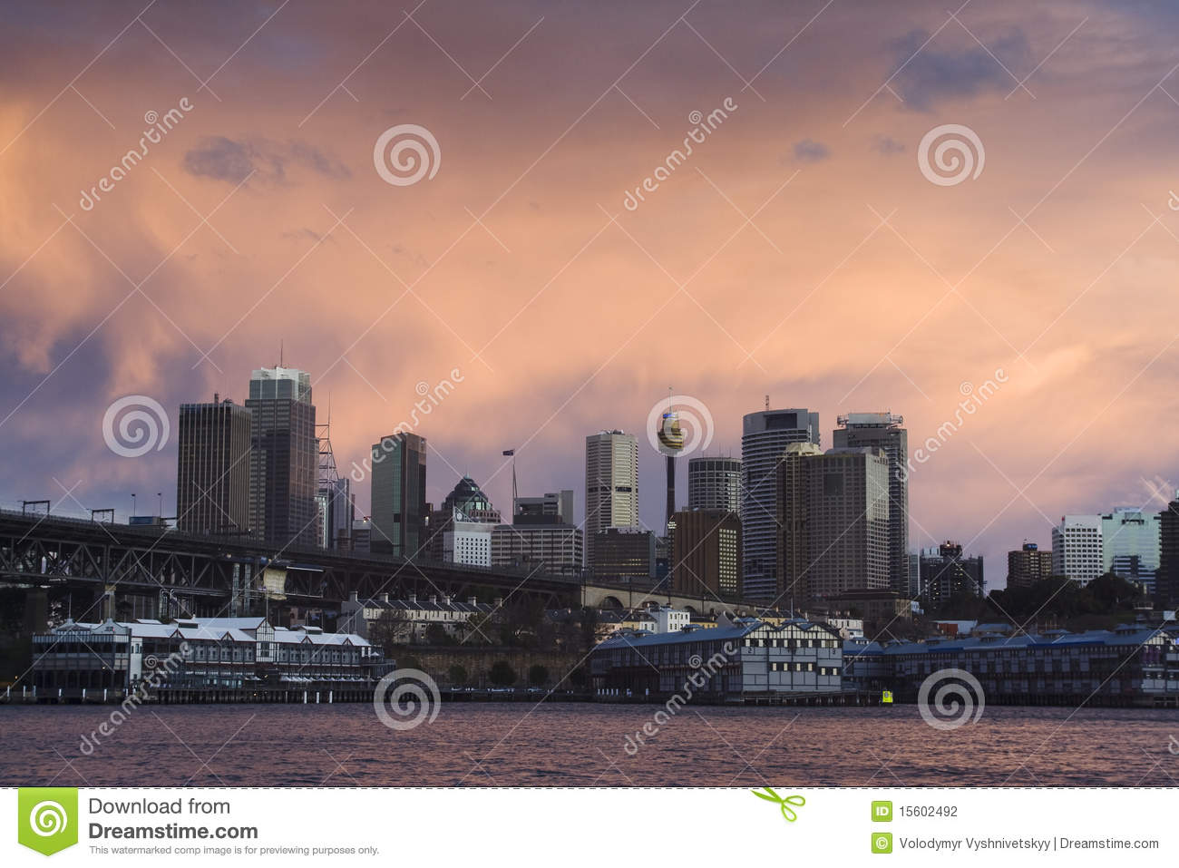 cbd red sky stock photography   image 15602492