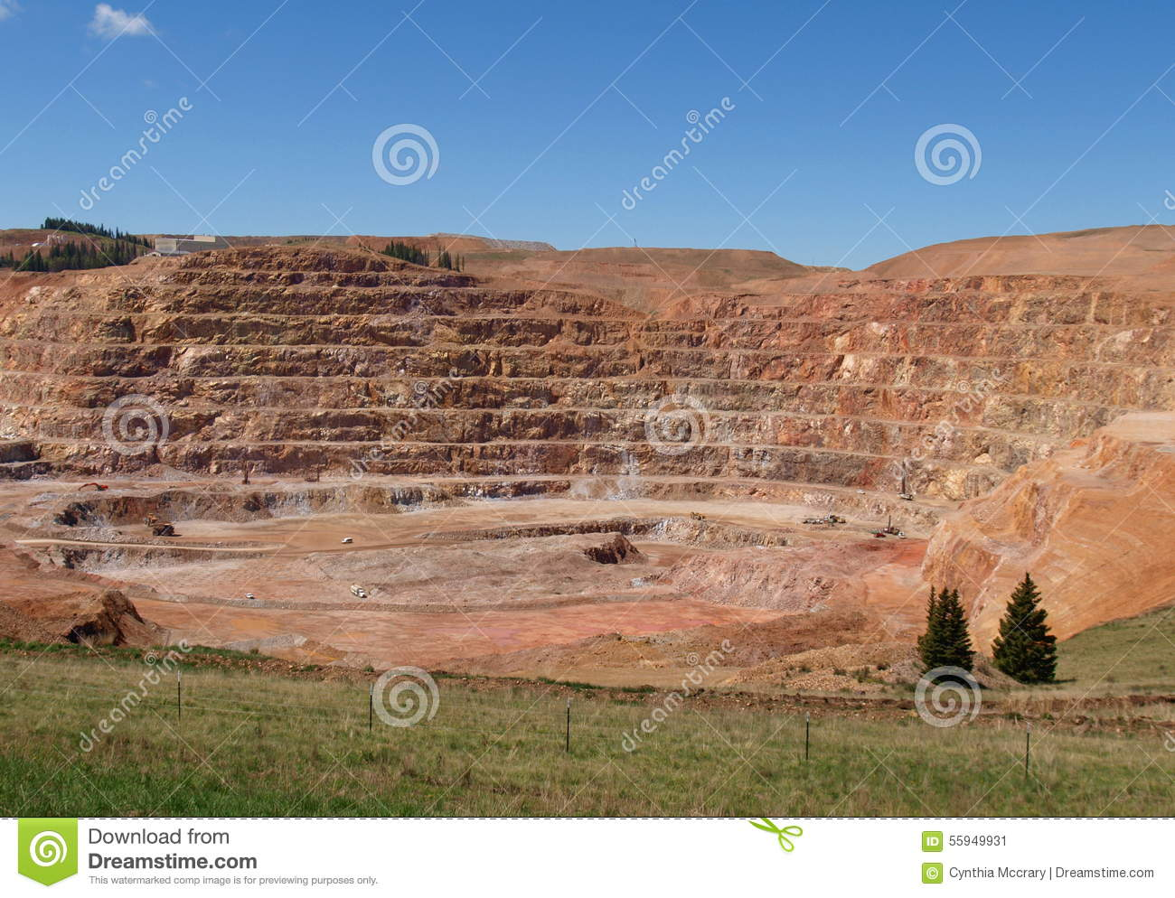 CC and V Gold Mine