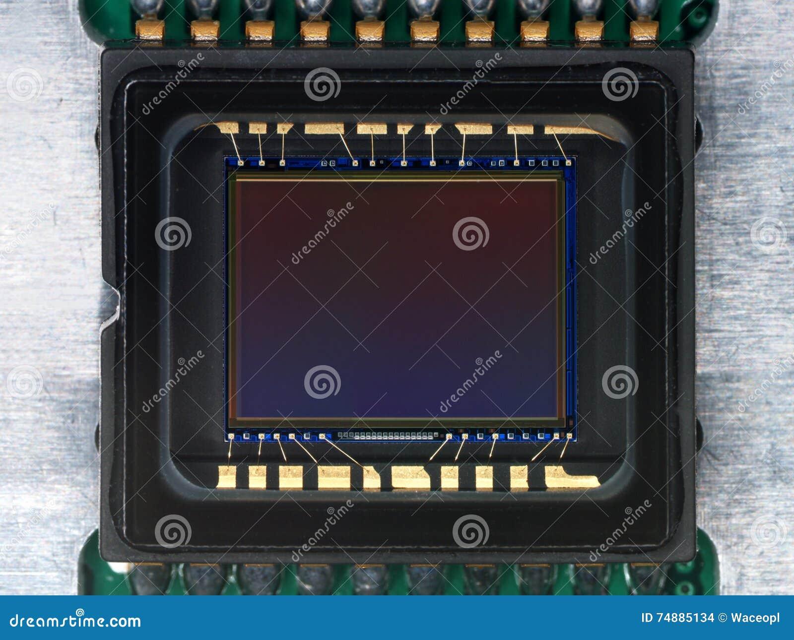 CCD-detector van camera