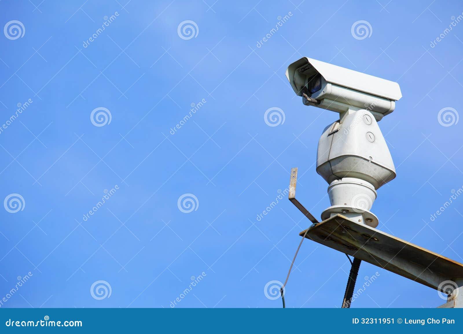 CCTV с голубым небом