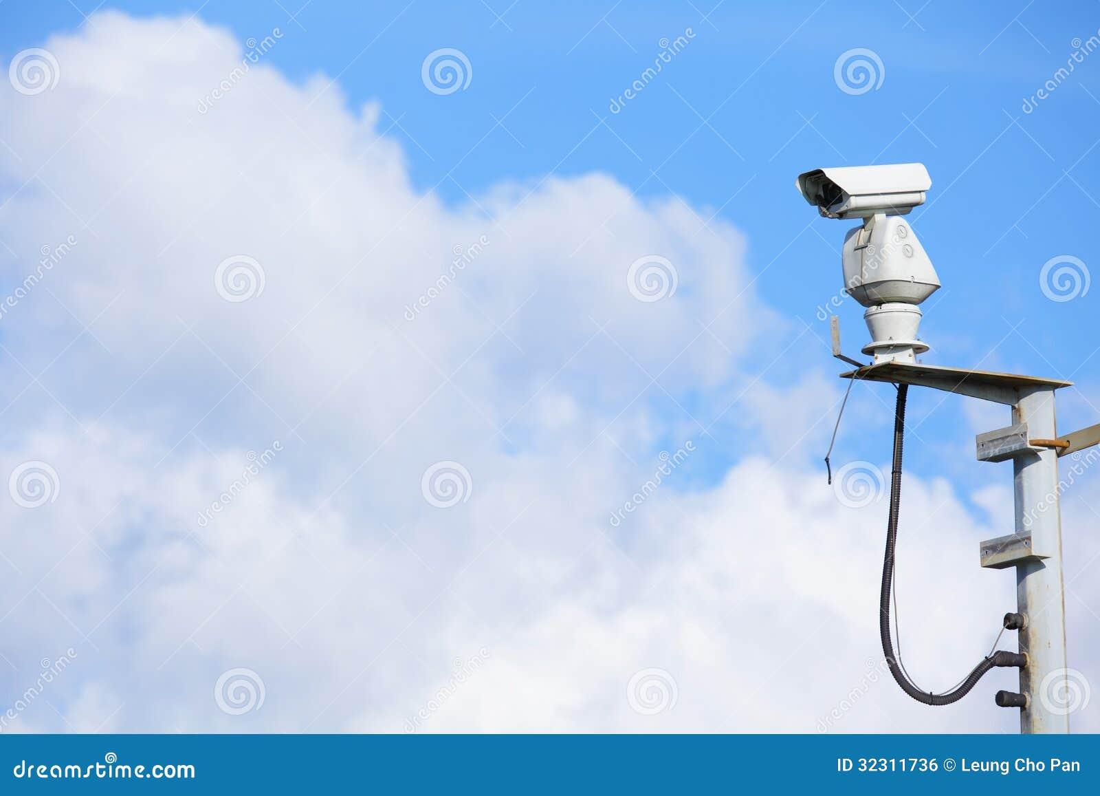 CCTV с cloudscape