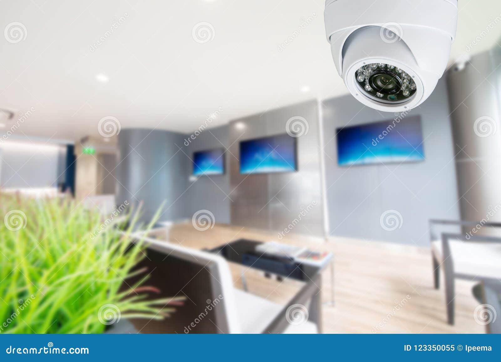 CCTV kamera bezpieczeństwa monitoruje twój miejsce