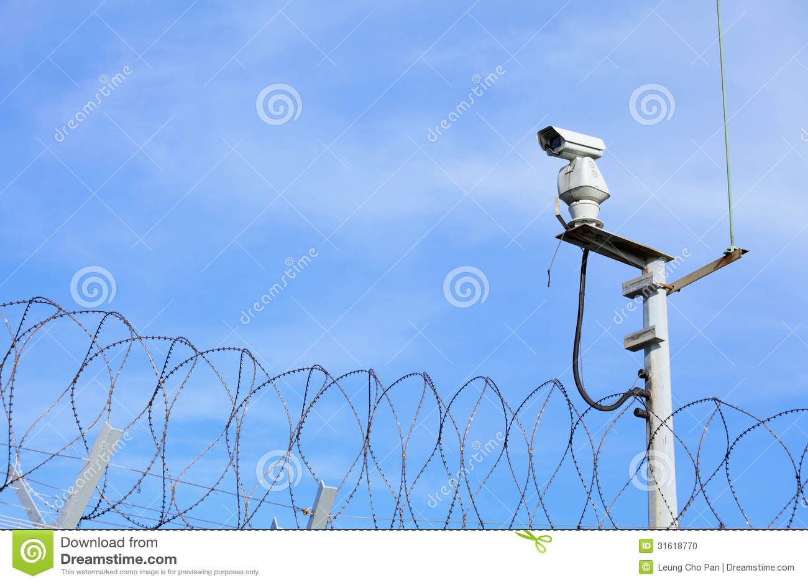 CCTV na górze звена цепи