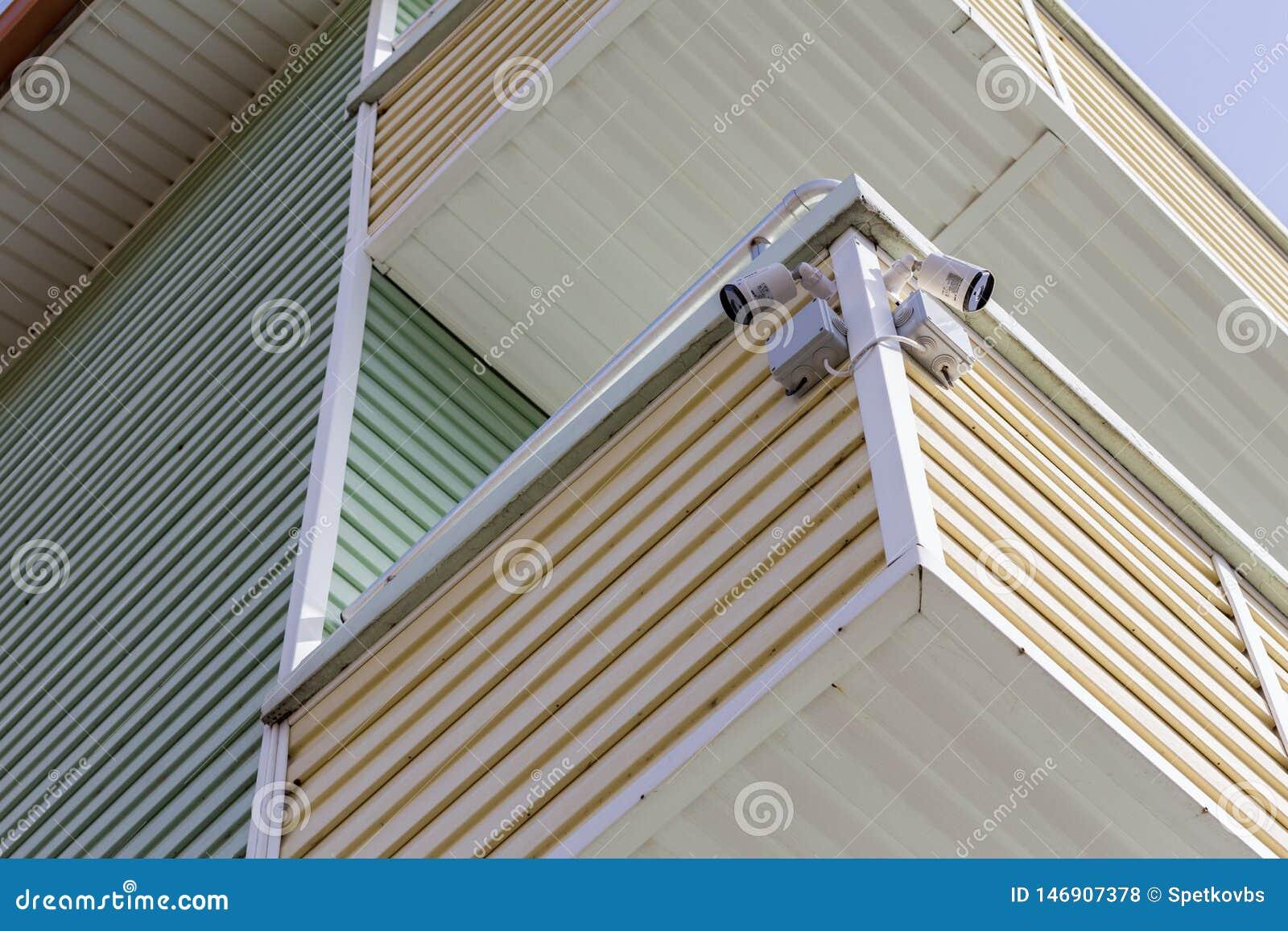 CCTV Security Camera. Cameras, surveillance.