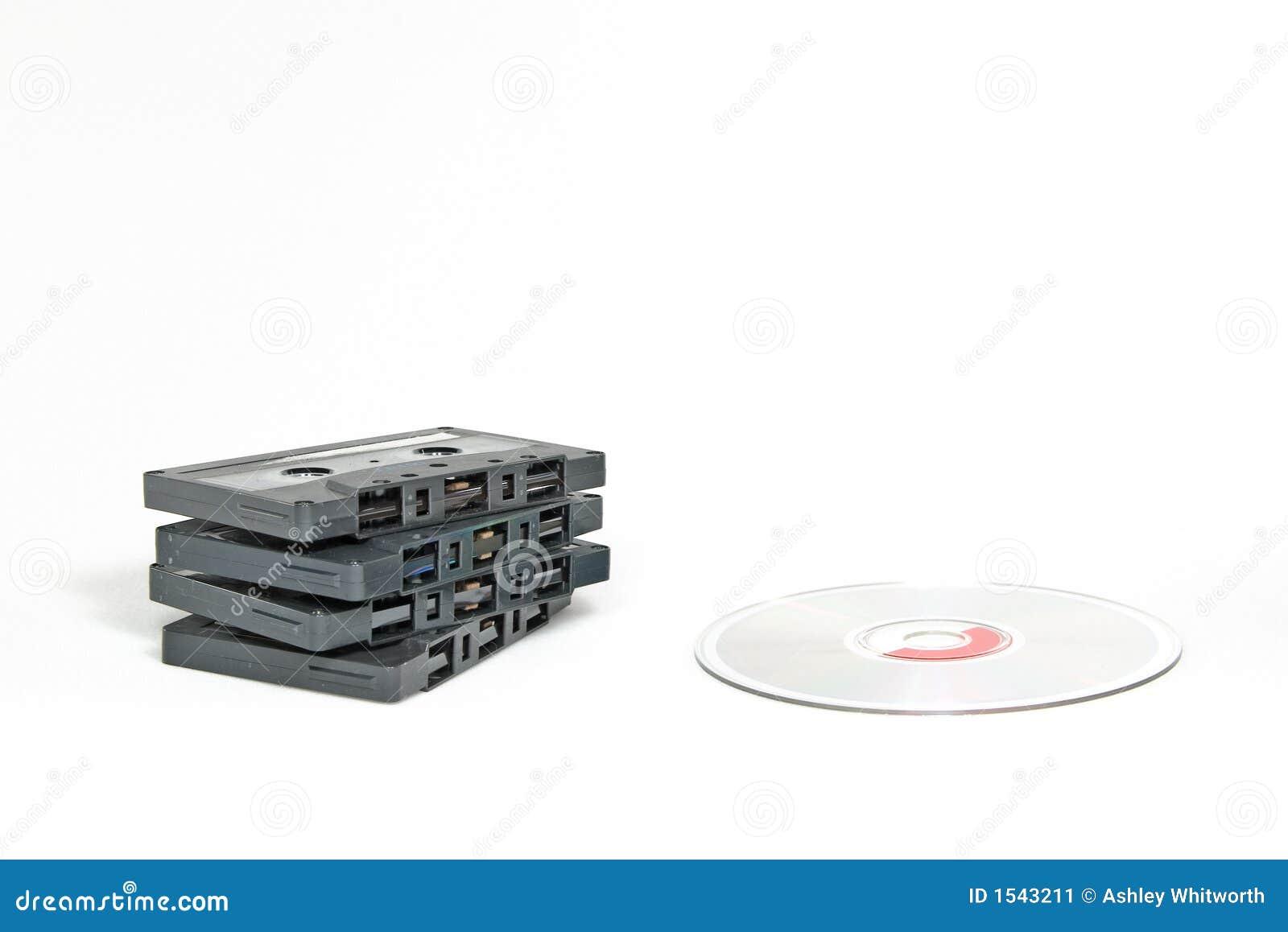 CD κασετών εναντίον