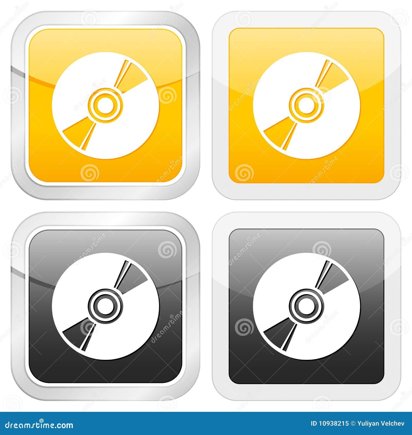 Cd квадрат иконы
