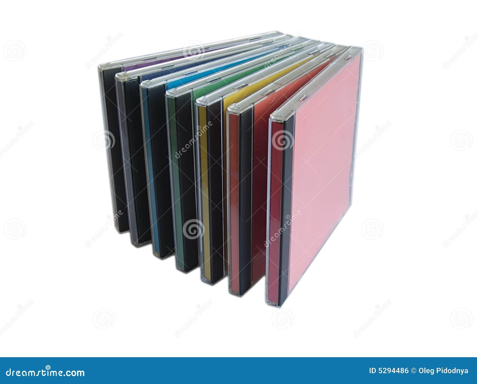 cd box stock illustration illustration of cristal covers 5294486. Black Bedroom Furniture Sets. Home Design Ideas