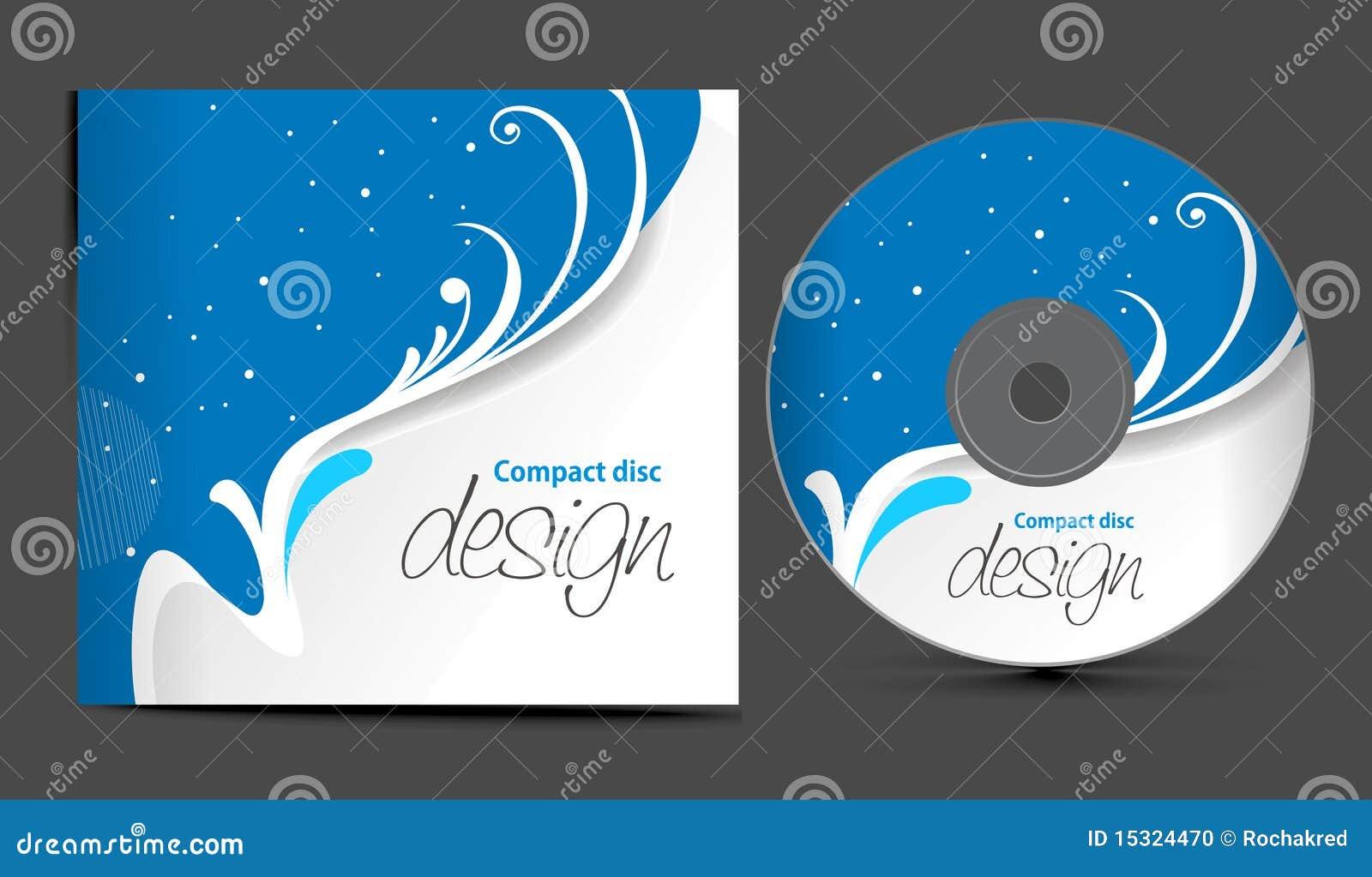 Cd Cover Design Stock Photo Image 15324470