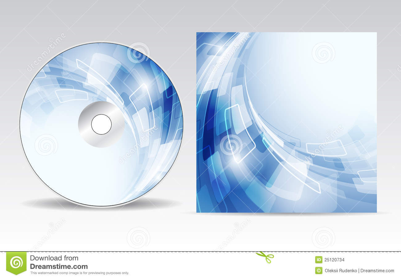 CD cover design for your design.