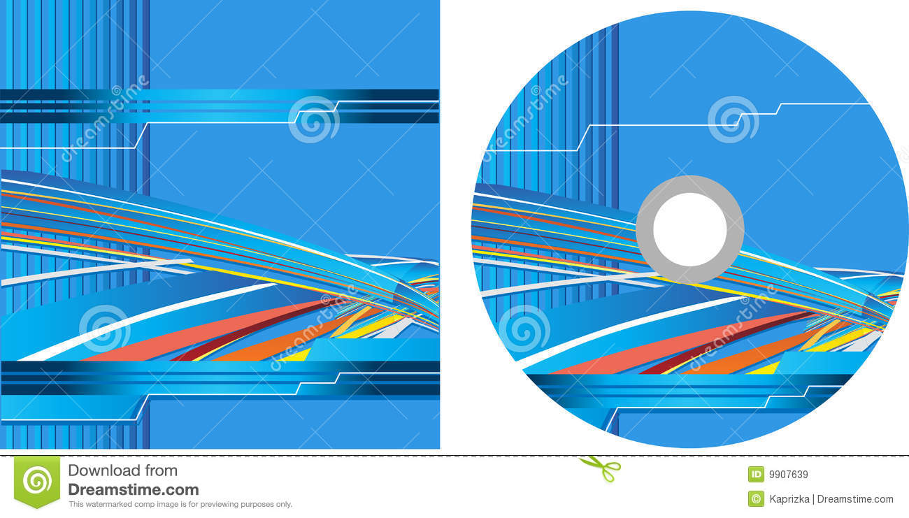 Cd cover design with copy space royalty free stock for Copy design