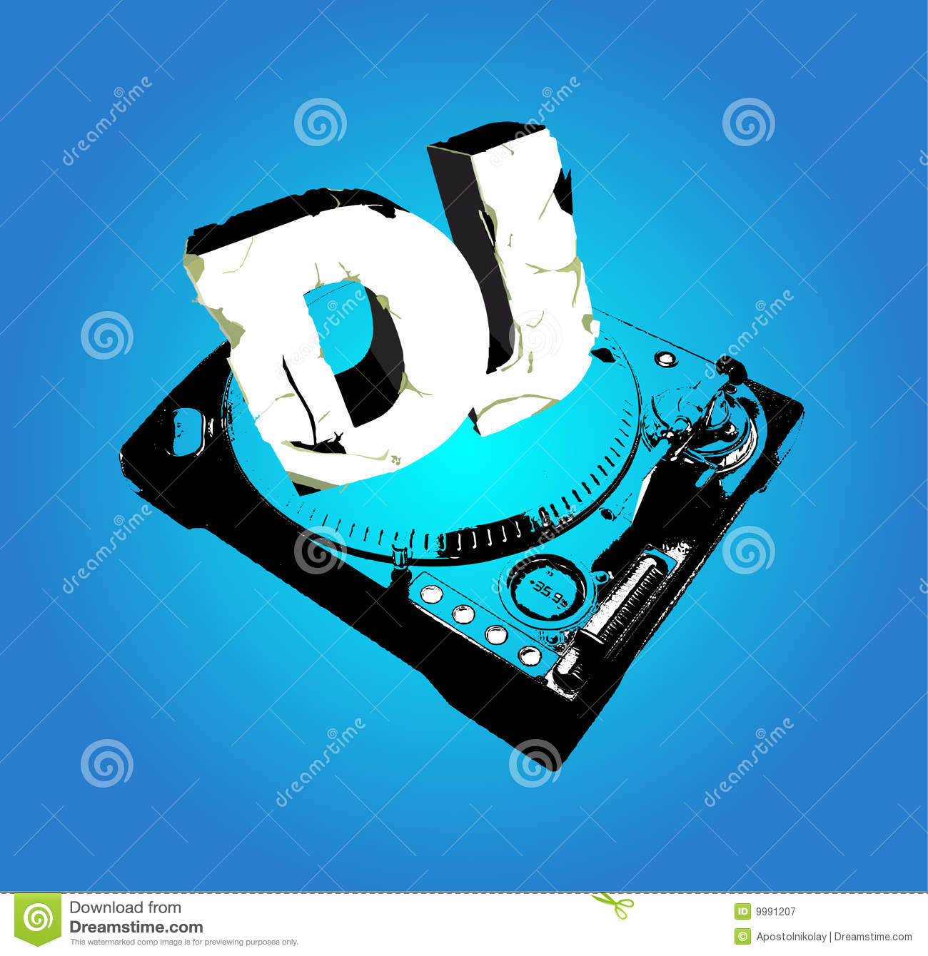 Cd Cover For Dj Royalty Free Stock Photography Image