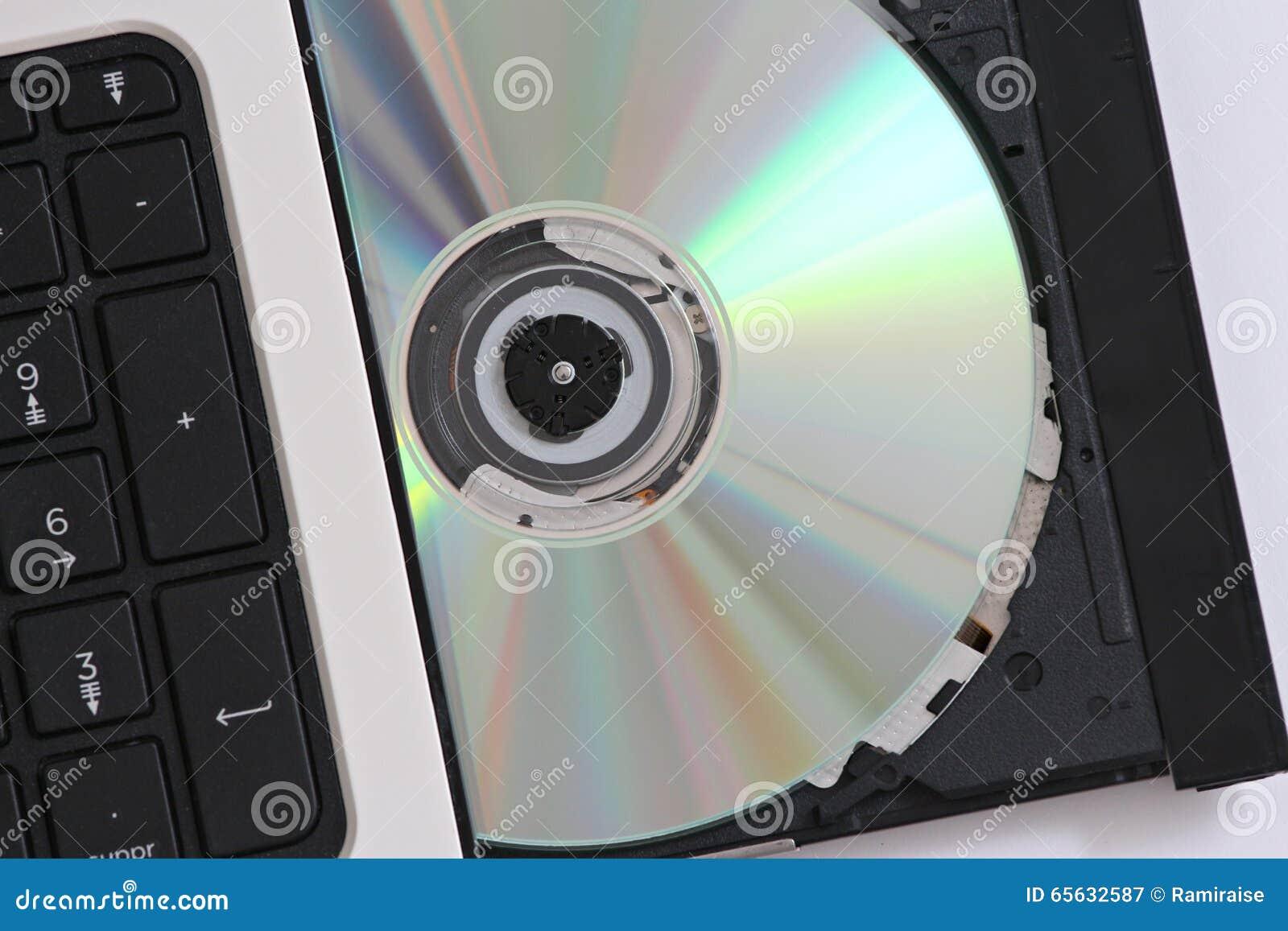 CD dans un ordinateur