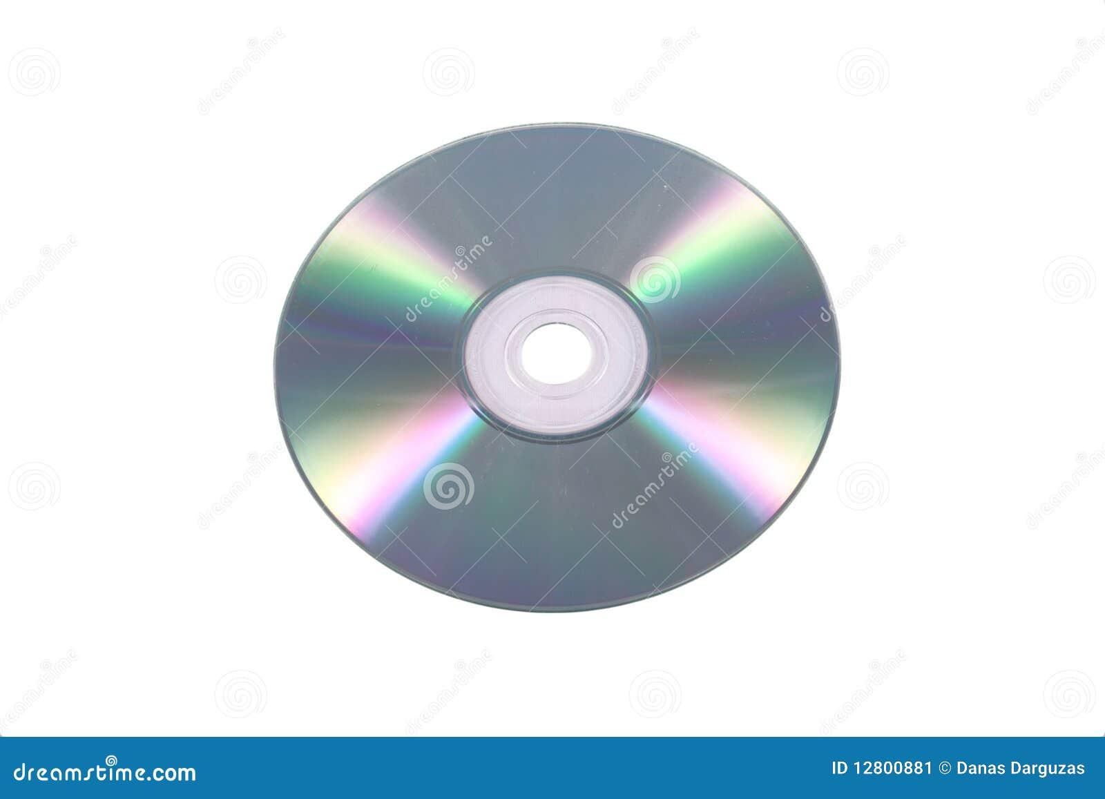 CD/DVD isplated no branco