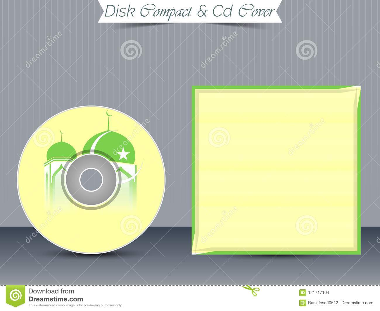 cd or dvd jewel case templates stock vector illustration of data
