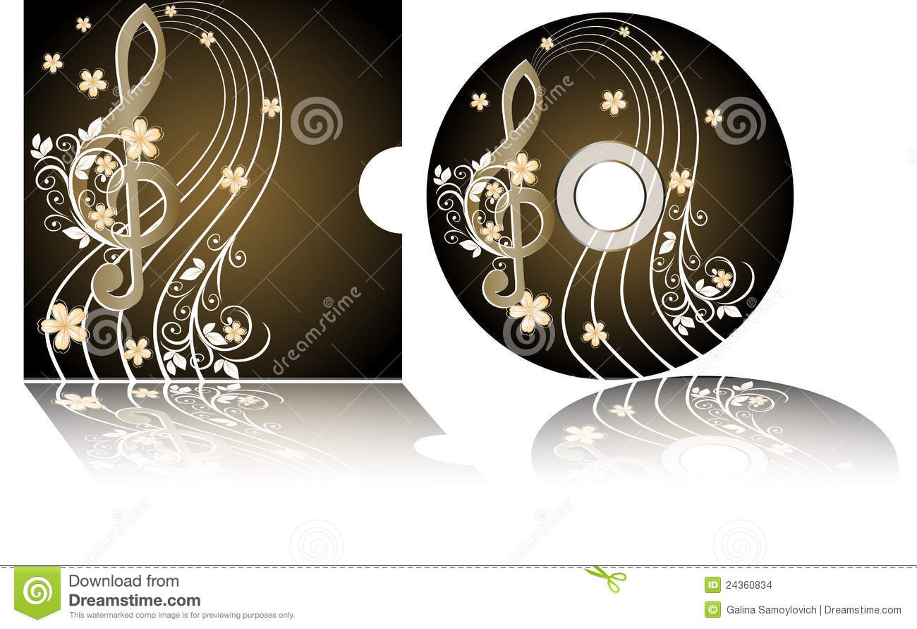 music cd lables