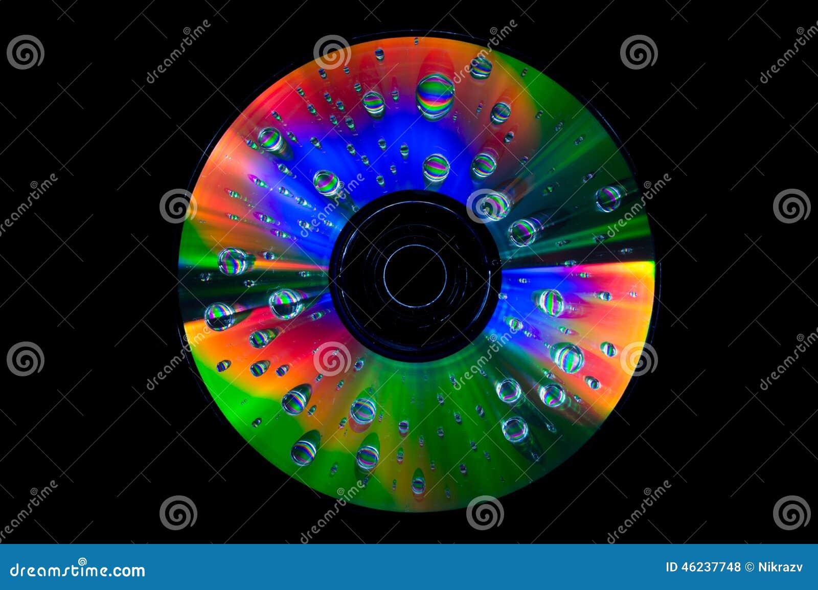 CD met waterdalingen