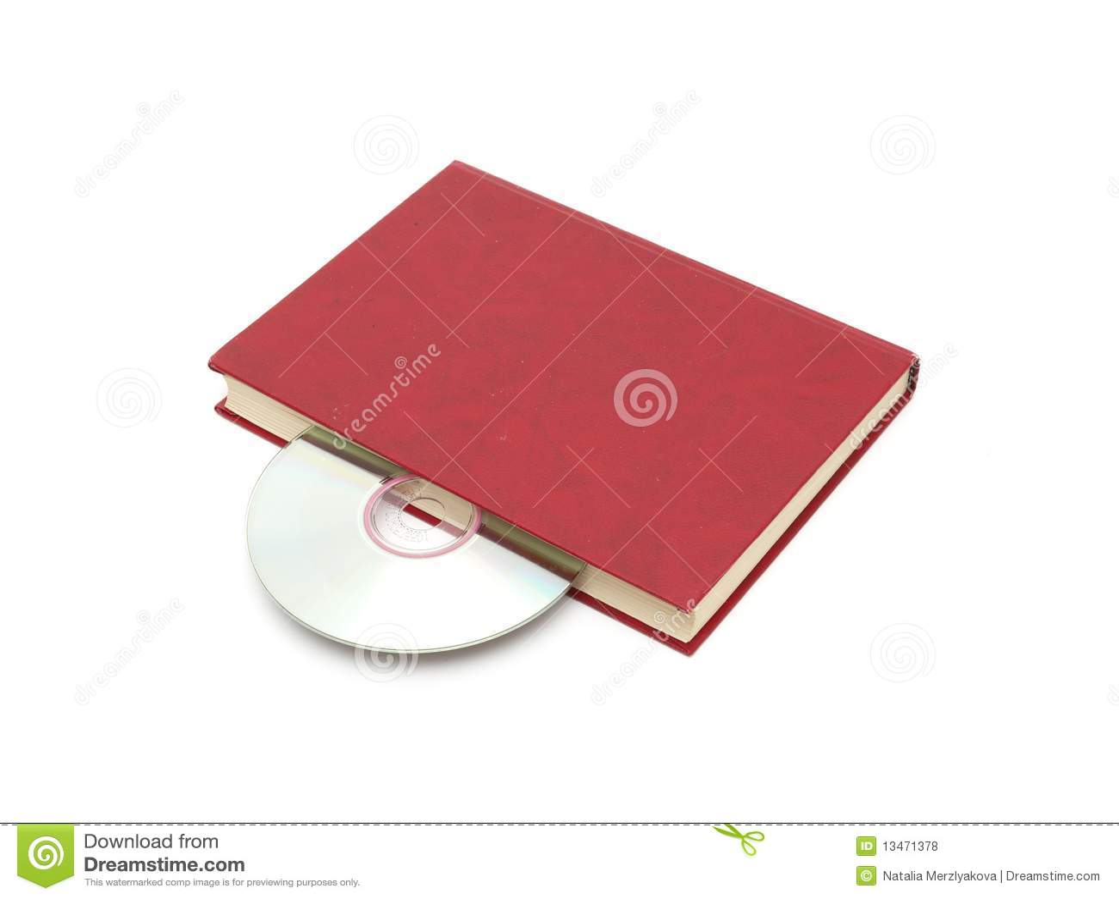 CD no livro