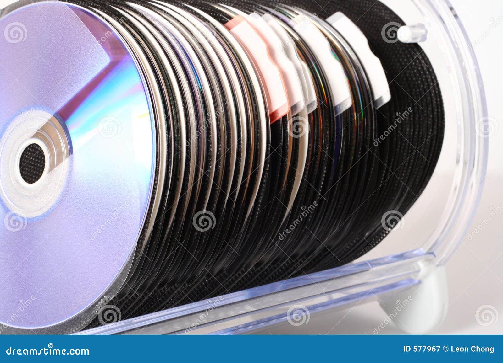 Cd opslag royalty vrije stock fotografie afbeelding 577967 - Idee opslag cd ...