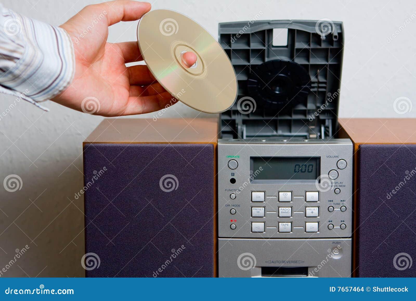 CD player music entertainment