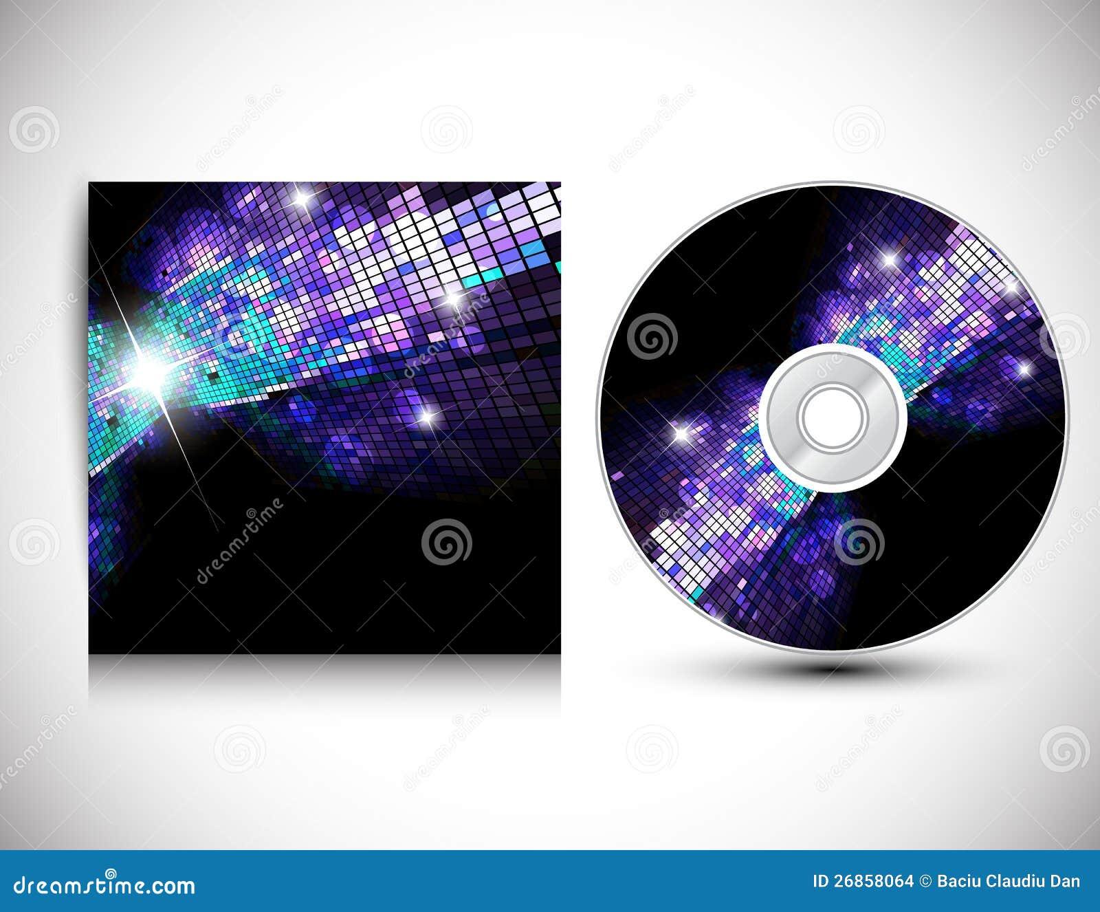 CD räkningsdesignmall.