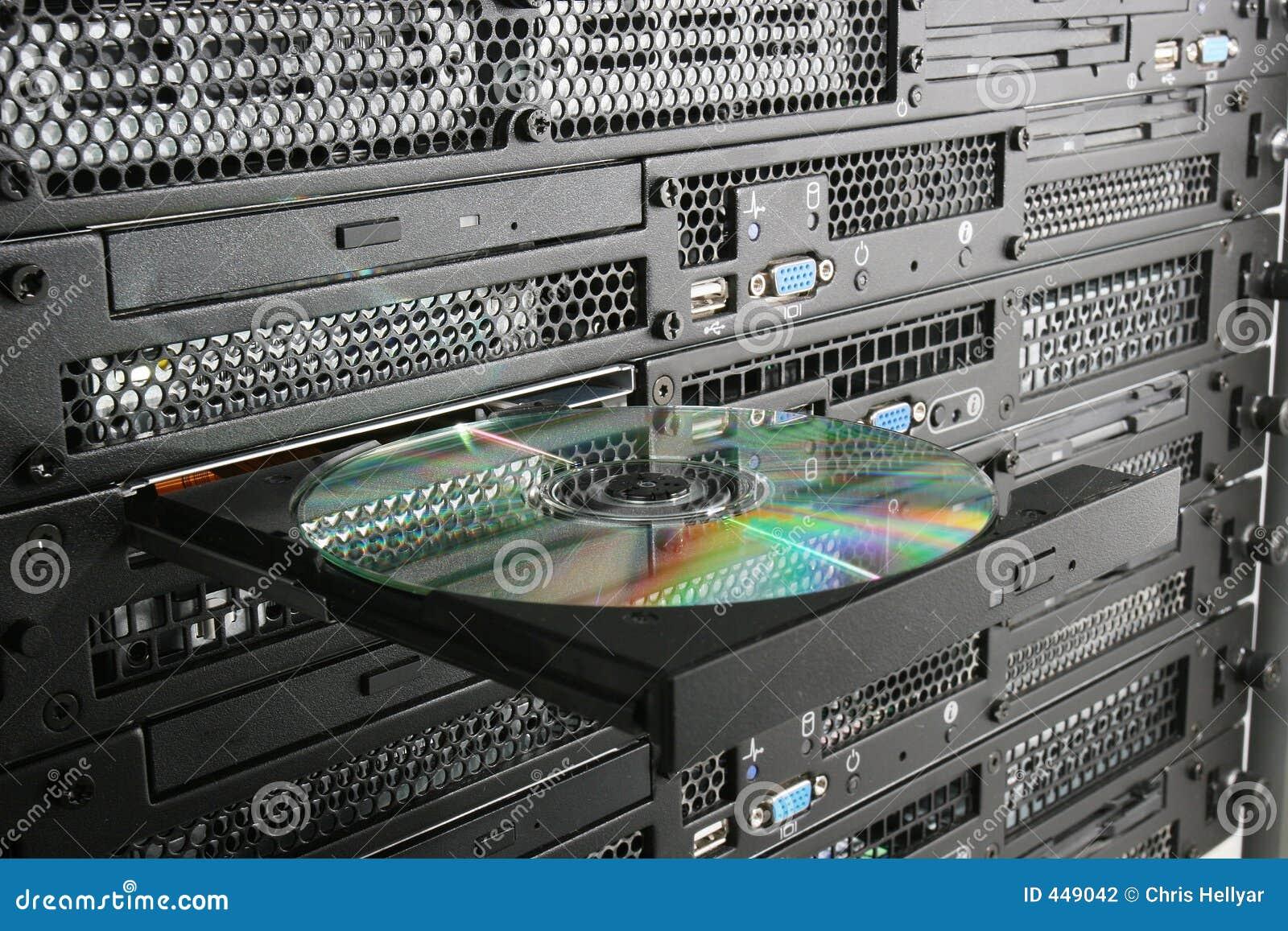 CD in the rack