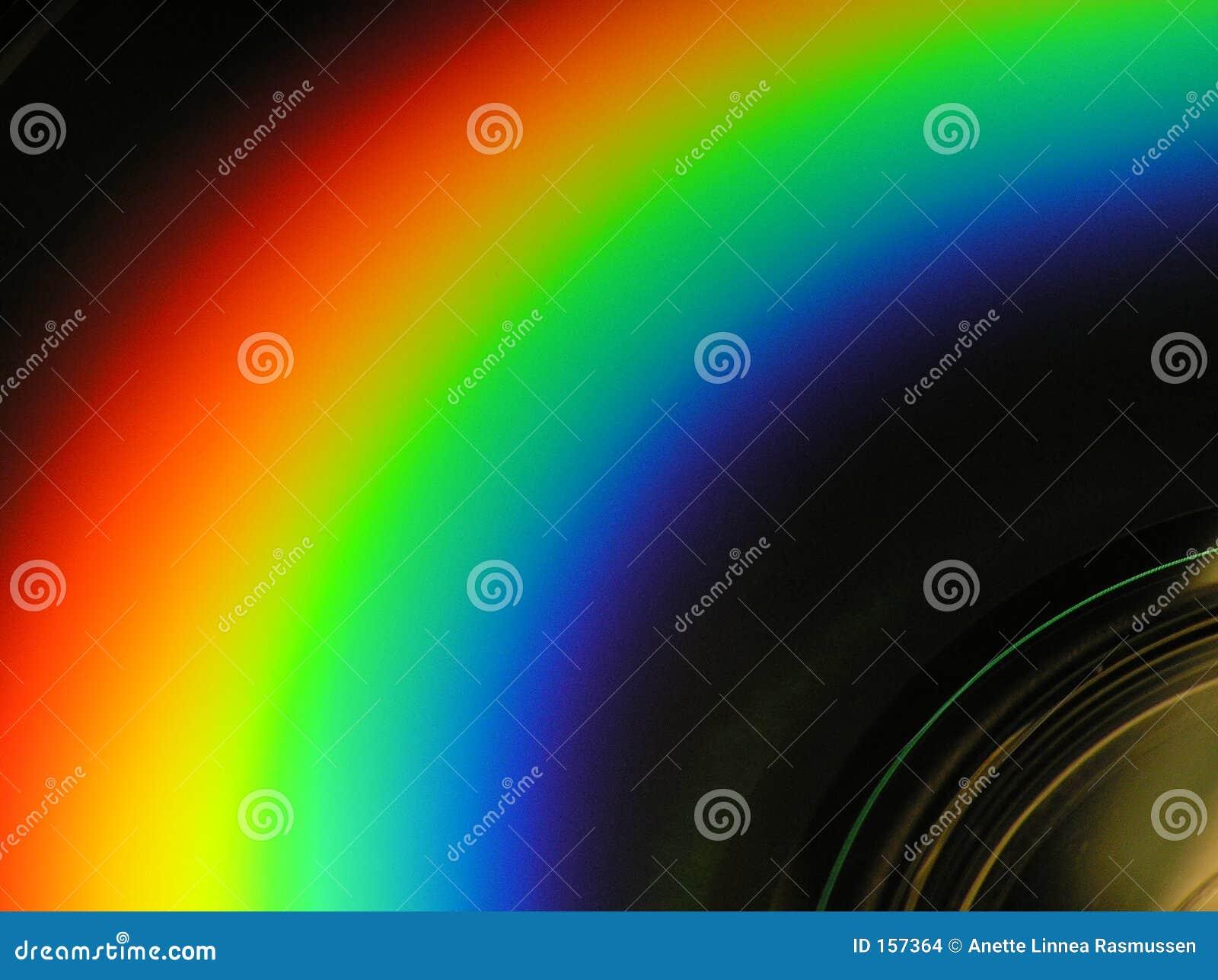 Cd � rainbow-look