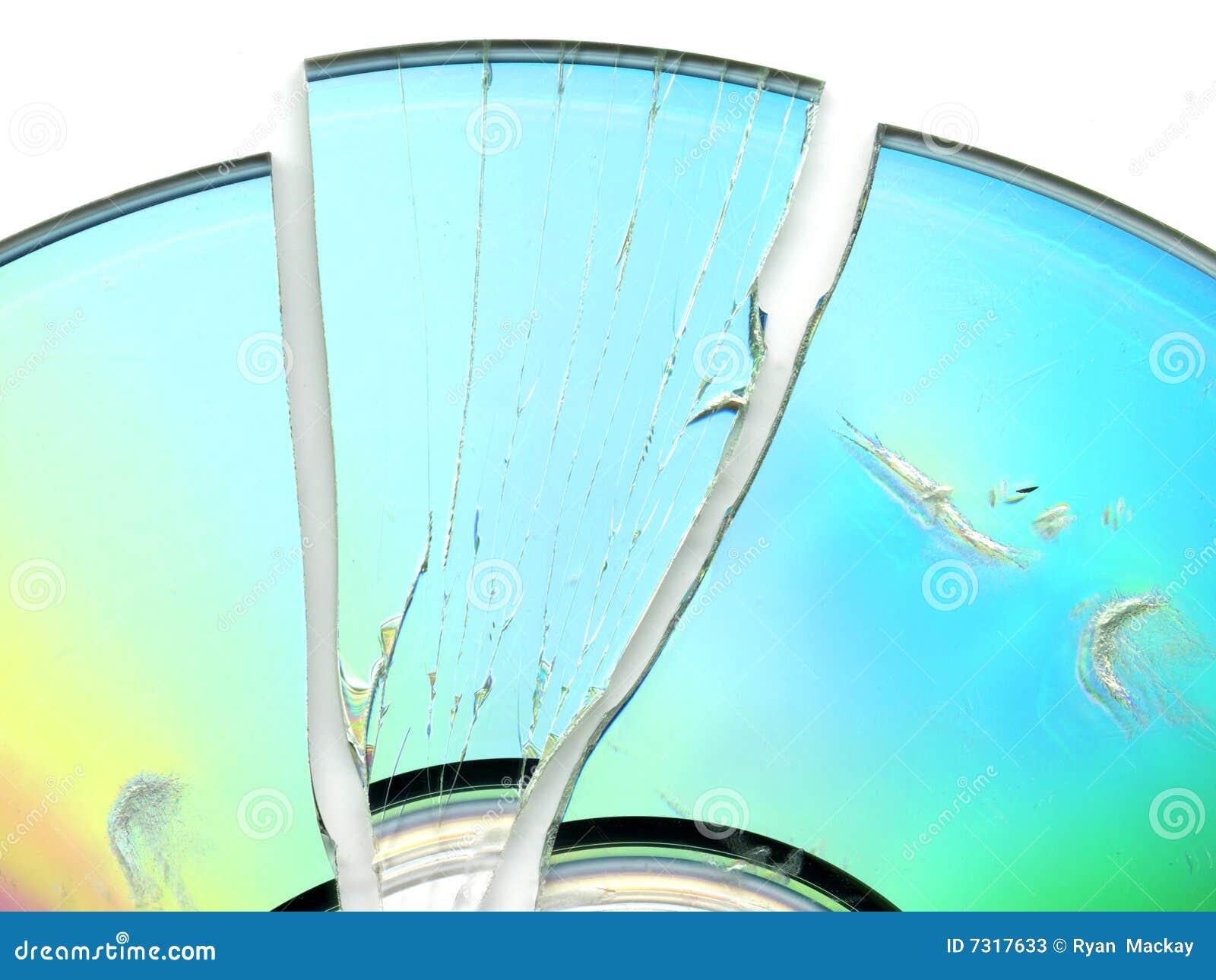 CD rotto/DVD