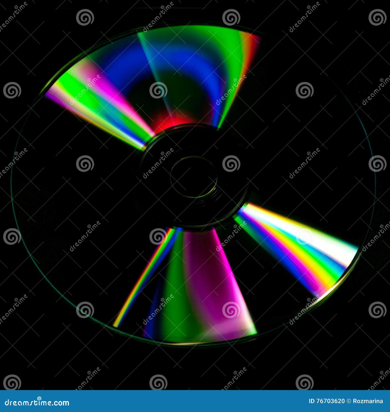 CD-schijf abstracte achtergrond