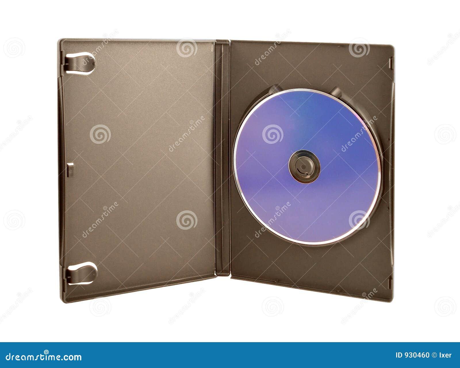 Cd U Dvd Kasten Stockfoto Bild Von Album Abdeckung Blau