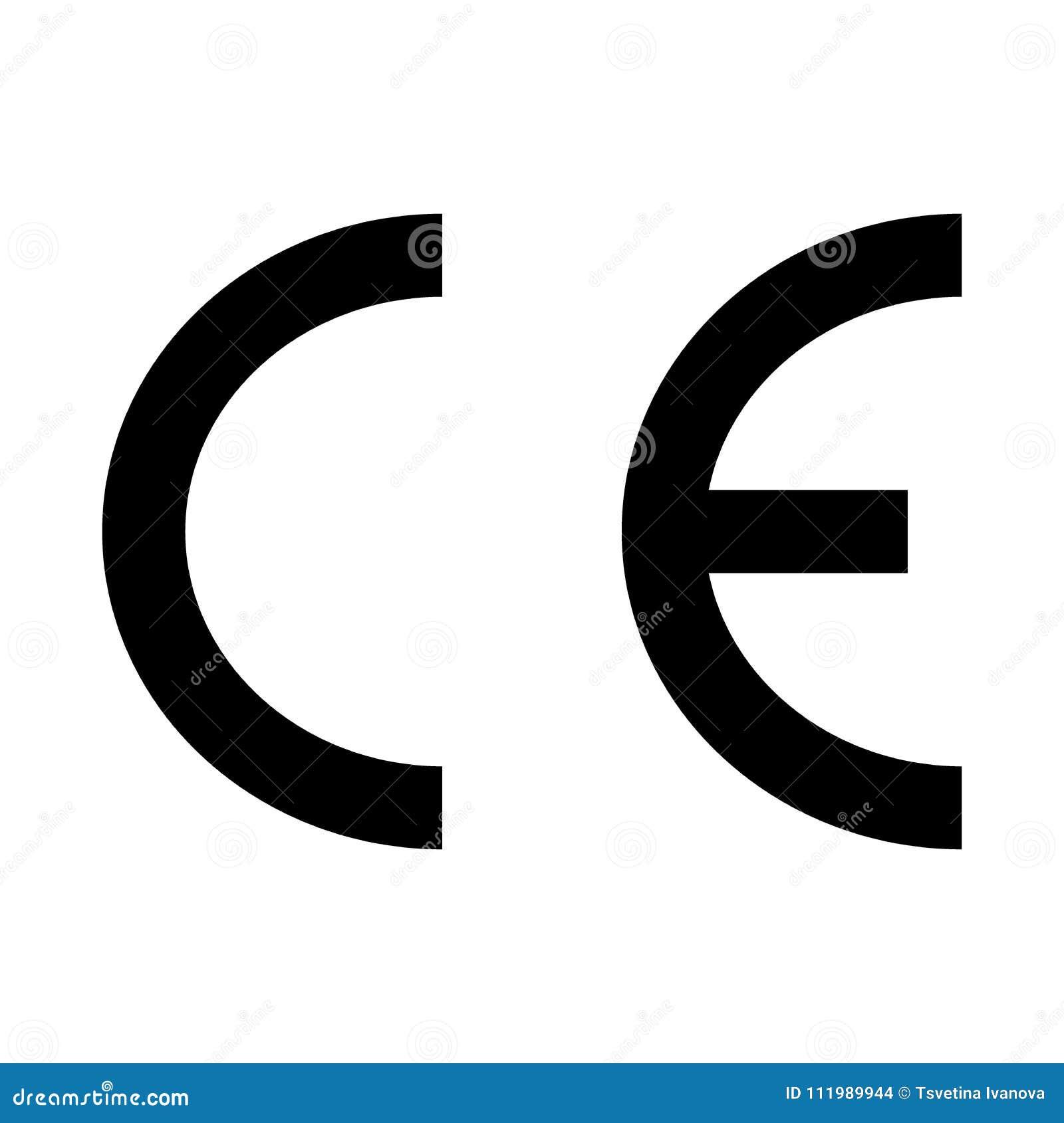 Ce mark logo.