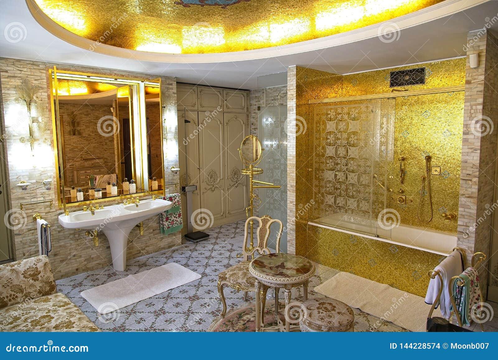 Ceausescu Palace Bathroom