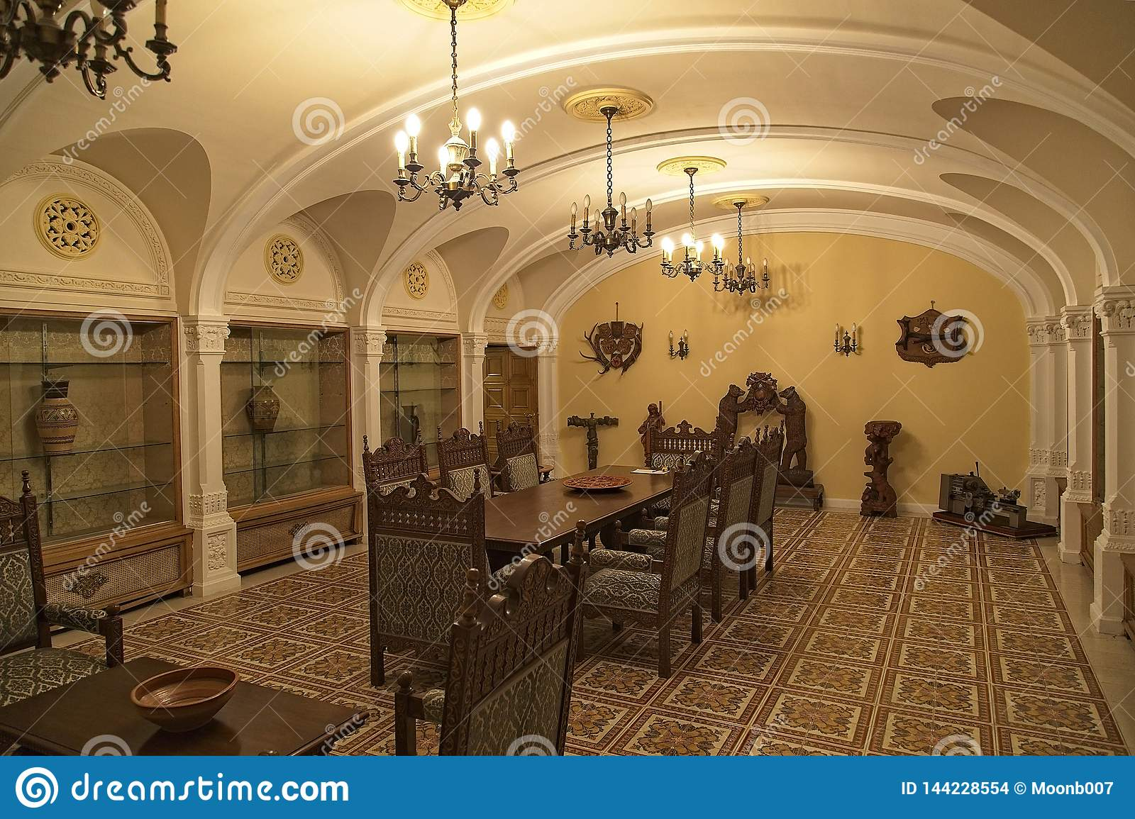Ceausescu Palace Dinning