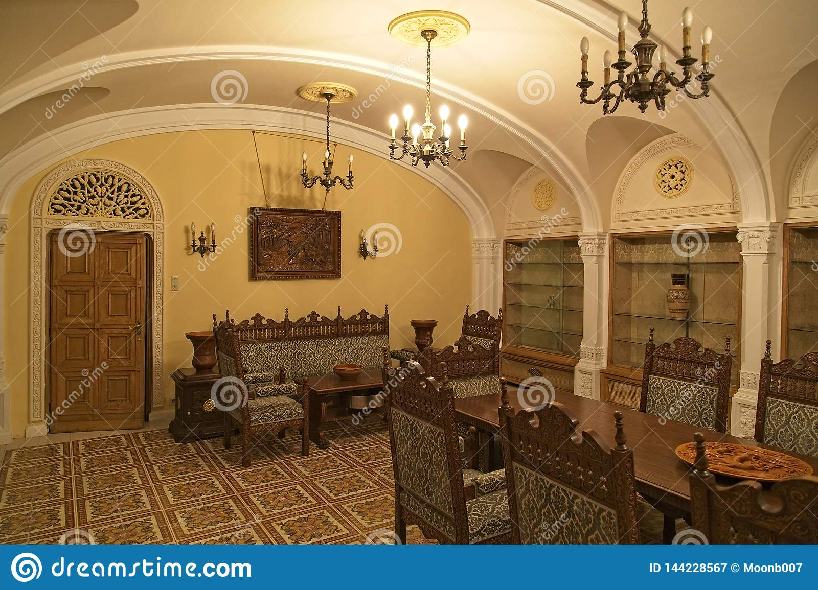 The Ceausescu Palace Dinning