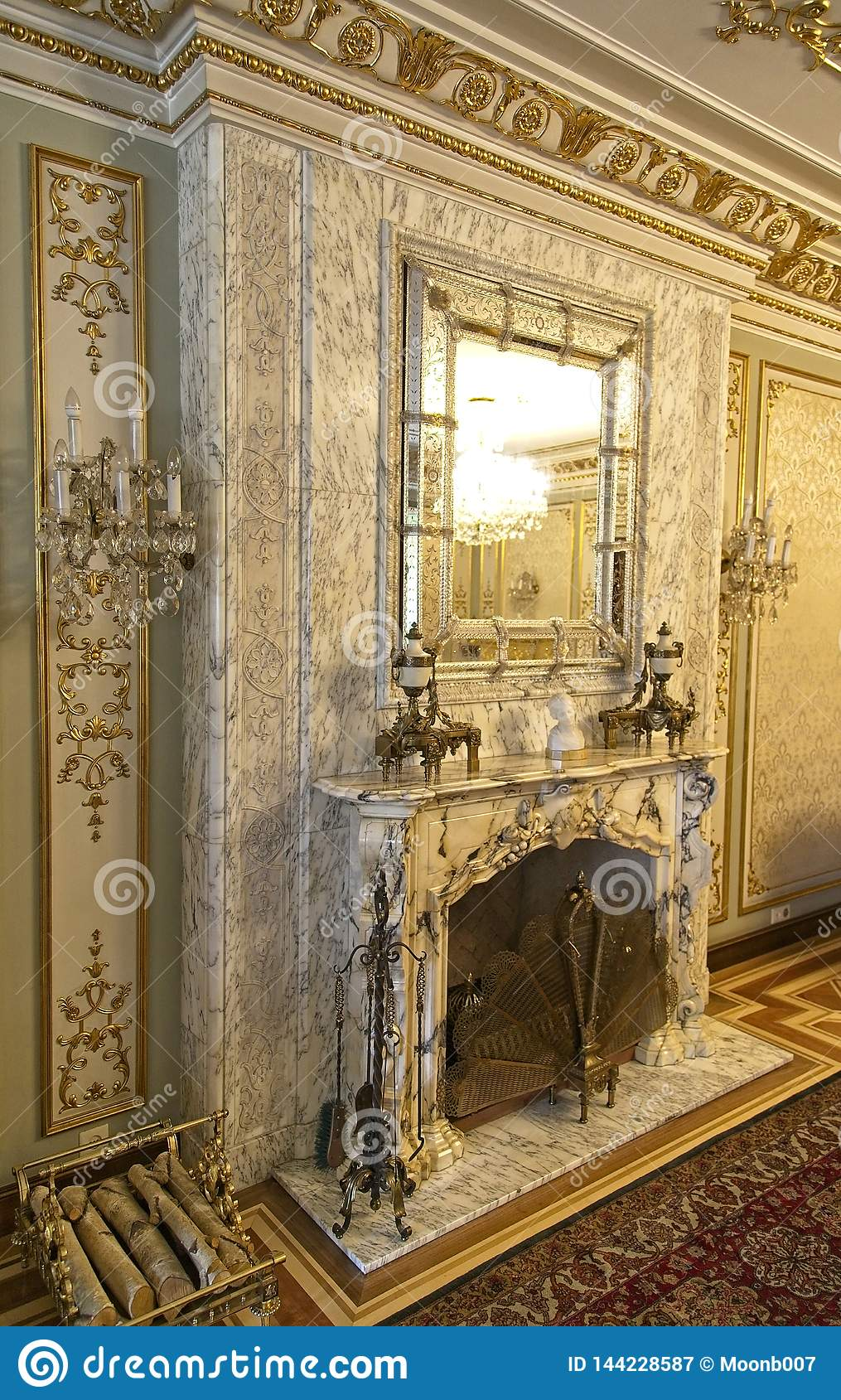 Ceausescu Palace Fire Place