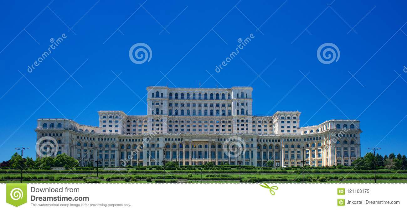 Ceausescu Palace of the Parliament Bucharest Romania Europe
