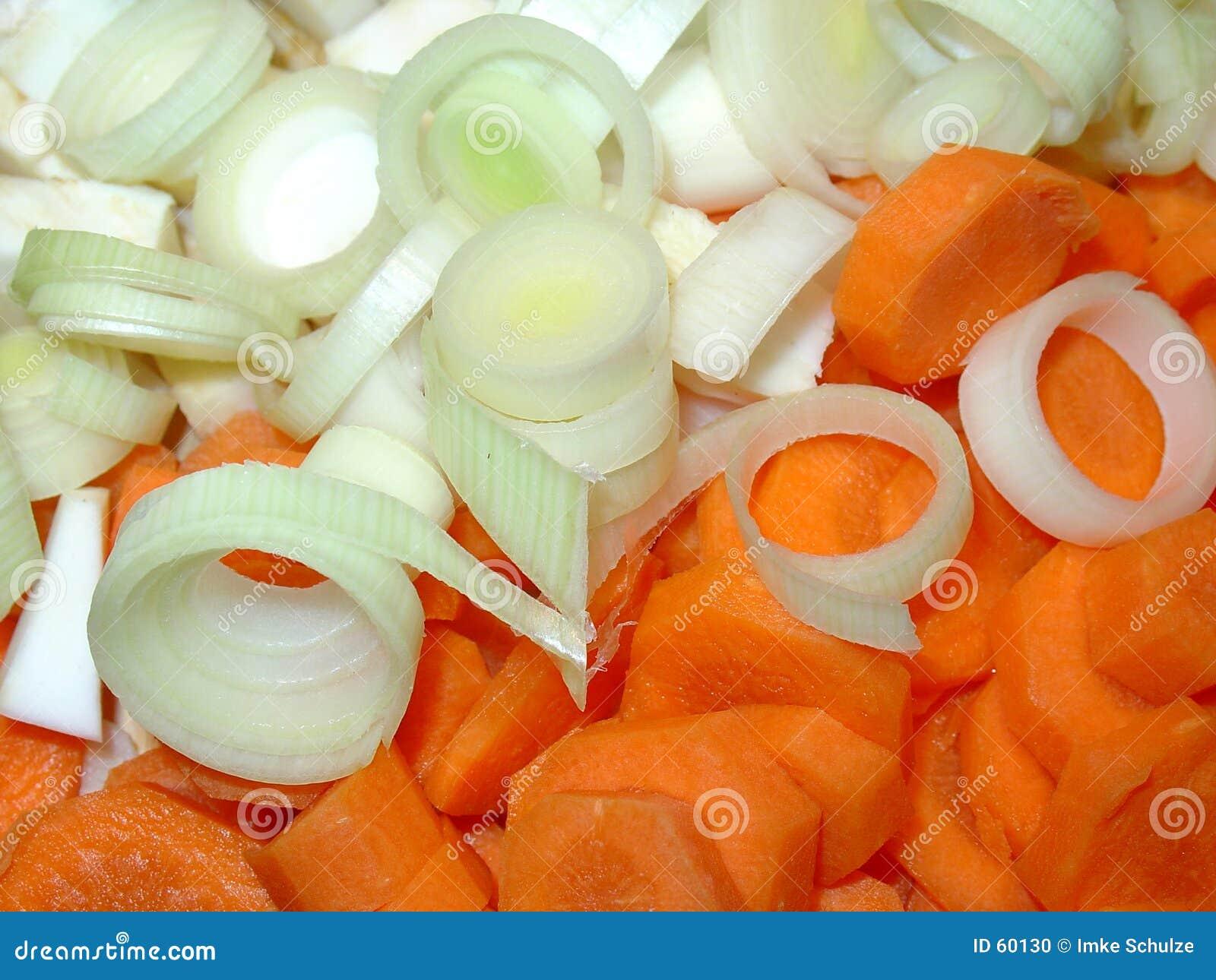 Cebolas e cenouras