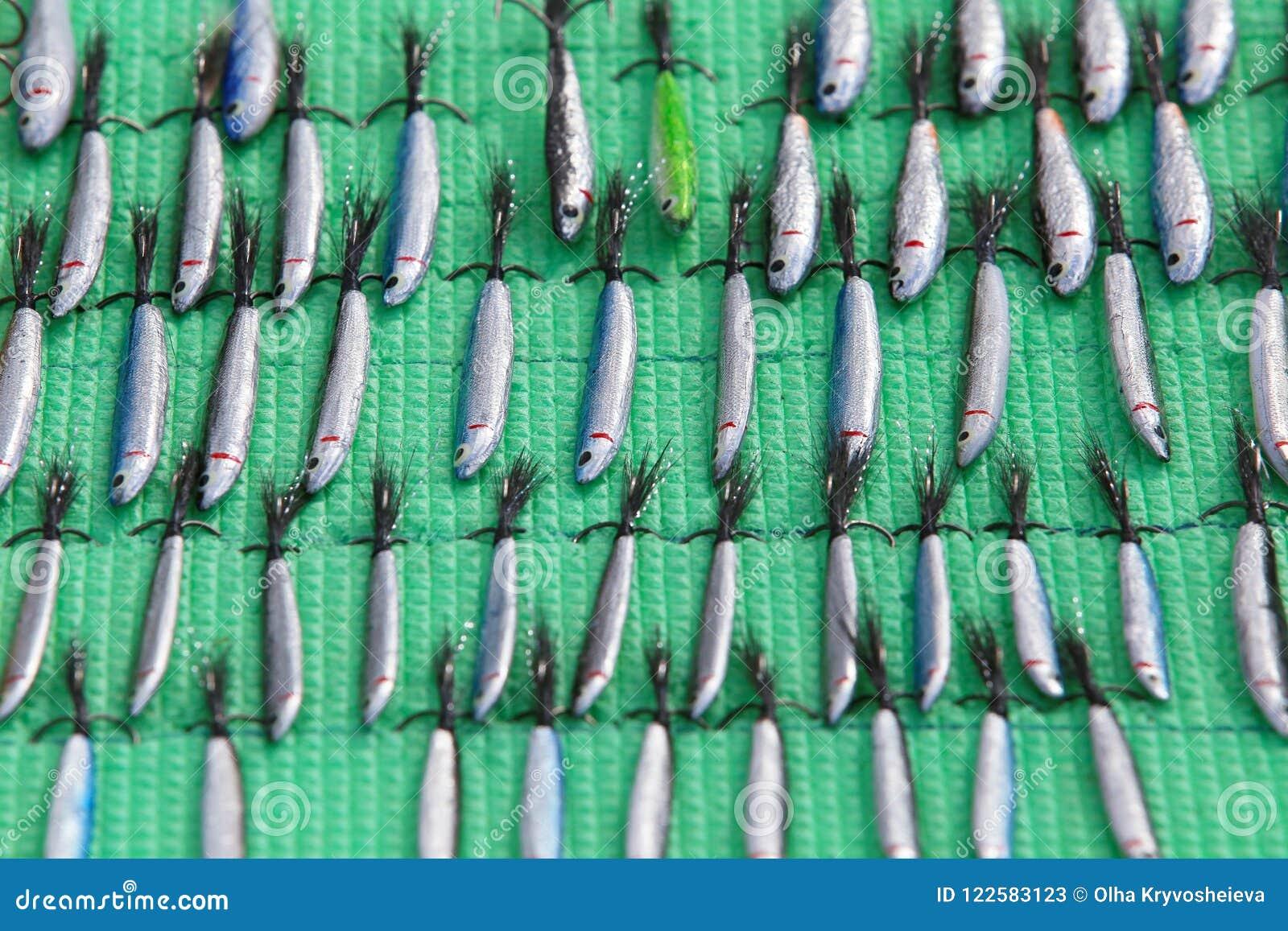 Cebos de cuchara, trastos y wobblers hechos a mano Pesca de señuelos y de los accesorios
