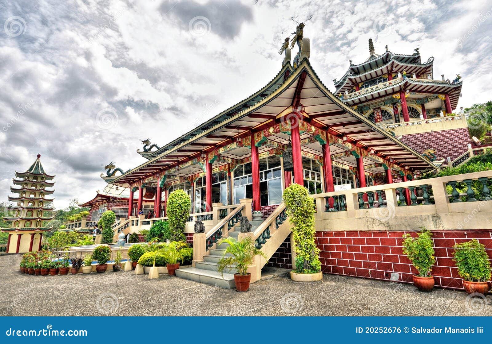 Cebu miasta Philippines taoist świątynia